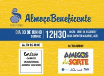 Almoço Beneficente (03/06/2018)