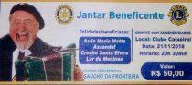Jantar Beneficente com Gaúcho da Fronteira